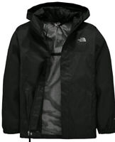 THE NORTH FACE Boys Resolve Hooded Jacket - Black RRP £95, size XL 15-16 Years✔️