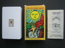 Vintage 1987 Albano-Waite Tarot Cards w/ 78 cards, Box & Instruction Booklet