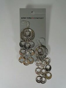 New York And Co. Earrings Dangle -   Surgical steel