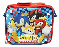 New Sonic, Shadow, Tails & Knuckles Lunch Bag/lunch Box