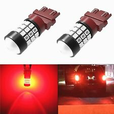 Alla Lighting 39-SMD 3157 3156 Super Red LED Turn Signal Brake Tail Light Bulbs