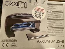 OPI Axxium Gel UV Light Cure System Nails AX900 Lamp Complete W/ Hand Rest