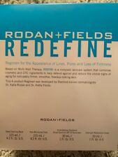 Rodan + and Fields REDEFINE Regimen - New/Sealed Kit Exp 08-20