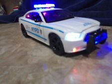 NYPD Dodge Charger 1/24 Scale Diecast Replica W/ Working Lights