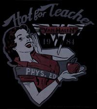 5600 Van Halen Hot For Teacher Logo Rock Music Band 1980s 1990s Sticker / Decal