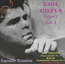 NEW Emil Gilels Legacy: Early Concerto Recordings, Vol. 1 (Audio CD)