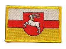 Polen Woiwodschaft Lublin Aufnäher Flaggen Fahnen Patch Aufbügler 8x6cm