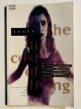 1994 DEATH: THE HIGH COST OF LIVING Vertigo Tpb Sandman Neil Gaiman First Print