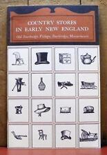 Country Stores in Early New England Old Sturbridge Village Massachusetts VGUC