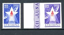 Romania 1963 SG 3010-1 Luna 4 Space MNH