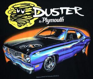 Plymouth Duster T-Shirts - 100% Cotton Preshrunk - Black