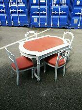 Table 4 chaises de style Louis XVI époque Napoléon III