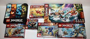 LEGO Ninjago Lot of 6 New Sets 70601 70602 71740 71706 71748 71701