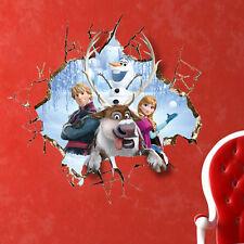 Wandtattoo Eiskönigin XXL 3D Olaf Wandaufkleber Disney Anna Elsa Kinderzimmer 21