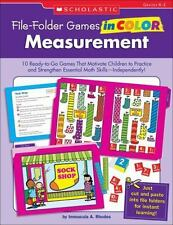 File-Folder Games in Color: Measurement: 10 Ready-to-Go Games That Motivate Chil