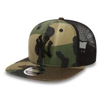 NEW ERA MENS 9FIFTY BASEBALL CAP.NEW YORK YANKEES WASHED CAMO SNAPBACK HAT 8S2 9