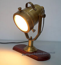 Search Light Study Lamp Antique Desktop Spotlight Table Lamp FREE SHIPPING IN UK