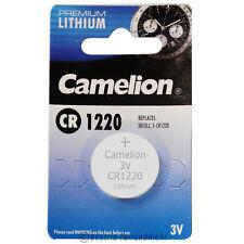 """""""5x CR1220 PREMIUM Lithium Knopfzelle 3Volt CAMELION"""