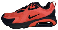 Nike Air Max 200 Habanero Red Blk Men's Running Shoes AQ2568 600 Size 8.5 9.5 10