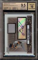 2008 Bowman Sterling Jesus Montero Rookie RC Jersey BGS 9.5 Autograph 10 Auto 07