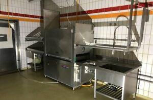 Hildebrand HIW 166-2/E Geschirrpülmaschine Spülmaschine Korbspülmaschine 23,5KW