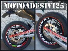 Adesivo stickers interno cerchi APRILIA DORSODURO TRICOLORE grafiche moto gp sbk