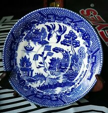"""Blue Willow Saucers 5 7/8"""". Set of 4. Made in Japan. Marked in Black."""
