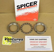 SPINDLE NUT KIT DANA 44 OR GM 10 BOLT  FORD CHEVY DODGE JEEP & IHC MANUAL HUBS