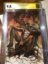 Amazing Spider-Man #19 (#820 LGY) - CGC 9.8 - Kraven - Lucio Parrillo Virgin SS