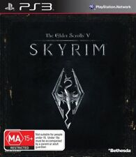 The Elder Scrolls 5 V Skyrim PS3 Game USED