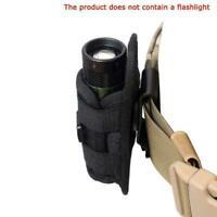 Tragbare tasche taschenlampe holster gürtel tragetasche mit halter dreh 360 J8B3