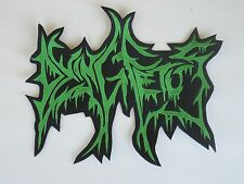DYING FETUS LOGO BRUTAL DEATH METAL EMBROIDERED BACK PATCH