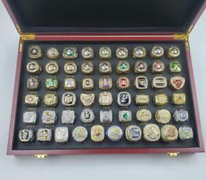 1946 Warriors To 2021 Bucks All NBA Basketball Team Ring MVP Souvenir Fan Gift
