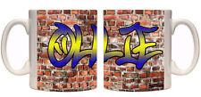 Boys name graffiti personalised mug birthday gift teenager gift custom mug