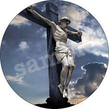 Communion Eglise Bapteme Deco Gateau Disque Azyme Comestible Anniversaire 20 cm