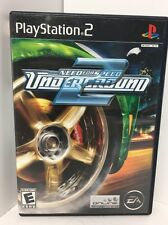 Need for Speed: Underground 2 (Sony PlayStation 2, 2004) COMPLETE CIB