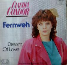 "7"" 80s KULT & RARE IN MINT- ! CLAUDIA CONDOR : Fernweh"