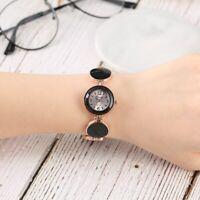 Elegant Fashion Women Dress Quartz Analog Wrist Watch Alloy Case Band Bracelet