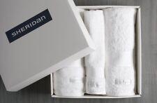 Sheridan Luxury Egyptian Towel Gift Set Snow -2 x Queen Towels,1 x Hand Towel