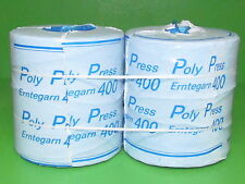 PP Synthetik-Pressengarn 2 x 5 kg Pack Typ 400 Erntegarn Ballenpresse Bindegarn