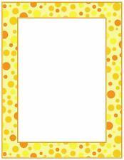 Yellow Dots  Printer Paper (NEW) Polka dot..