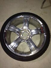 19 Inch Real Chrome Rims