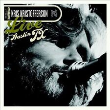 Live from Austin TX by Kris Kristofferson (DVD, Mar-2013, 2 Discs, New West (Record Label))