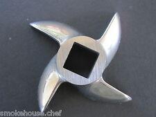 #22 Stainless Steel Meat Grinder knife blade for Cabelas Carnivore 1 HP