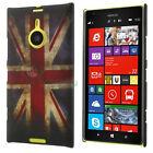 Custodia rigida bandiera inglese INGHILTERRA per Nokia LUMIA 1520 cover UK