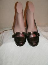 Sofft Metallic Bronze Leather Classic Pumps Shoes Shoe Size 7.5  M