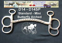 Butterfly Bit Arched Carriage Driving  All Sizes Style D14