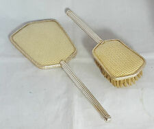 Beautiful Vintage Hand Mirror and Brush