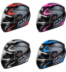 Castle X Mugello Squad ELECTRIC Full Face Snowmobile Helmet (XS - 3XL)