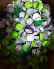 Lot of 700+ Plastic Bottle Caps Art Craft Supplies Water Soda No Codes